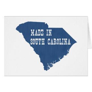 Made in South Carolina Card