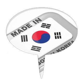 Made in South Korea Cake Topper