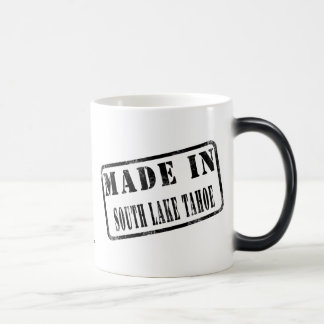 Made in South Lake Tahoe 11 Oz Magic Heat Color-Changing Coffee Mug