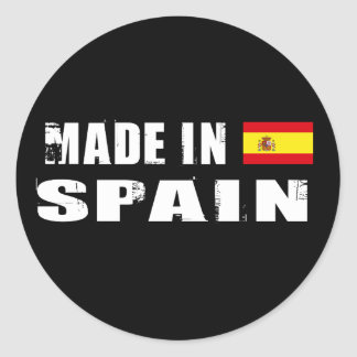 Made in Spain Classic Round Sticker