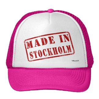 Made in Stockholm Trucker Hat