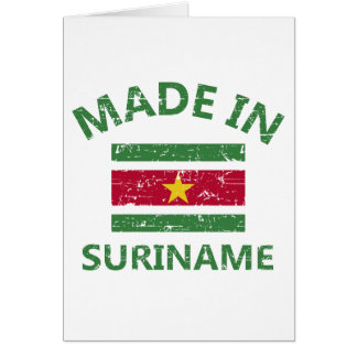 Made in Suriname Greeting Cards