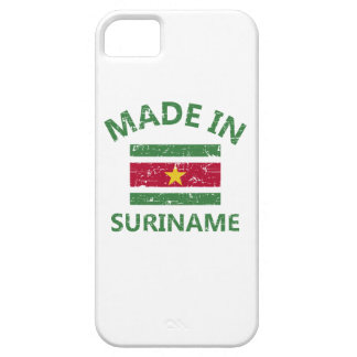 Made in Suriname iPhone SE/5/5s Case