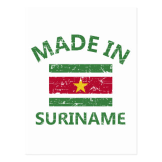Made in Suriname Postcard