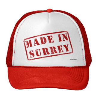 Made in Surrey Trucker Hat