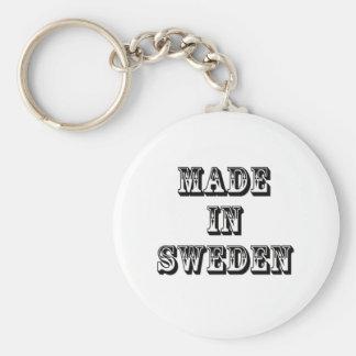 made in sweden keychain