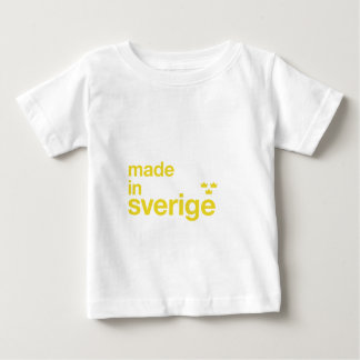 Made in Sweden & Tre Kronor / Three Crowns Baby T-Shirt