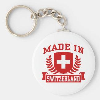 Made In Switzerland Keychain
