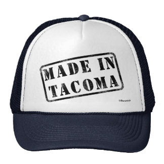 Made in Tacoma Trucker Hat