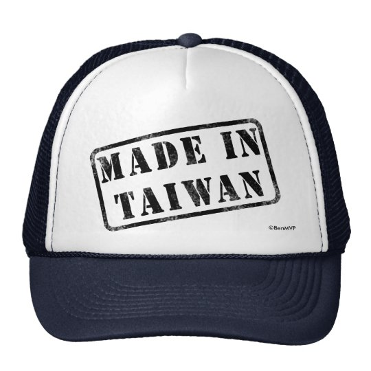 Made in Taiwan Trucker Hat