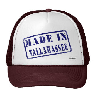 Made in Tallahassee Trucker Hat