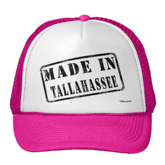 Made in Tallahassee Trucker Hats