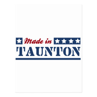 Made in Taunton Postcard