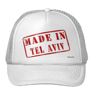 Made in Tel Aviv Trucker Hat