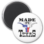 Made in Texas 2 Inch Round Magnet