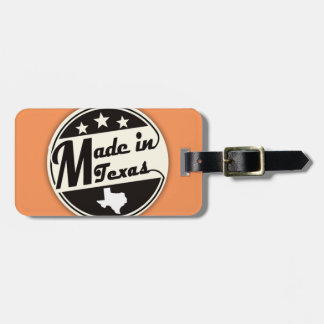 """""""Made in Texas"""" Luggage Tag"""