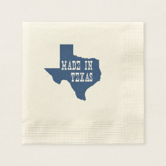 Made In Texas Paper Napkin