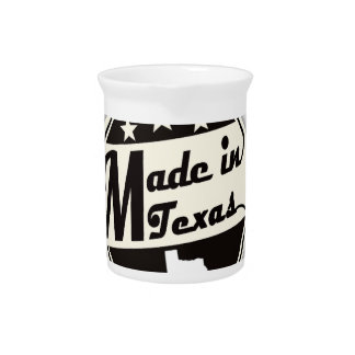 """""""Made in Texas"""" Pitcher"""