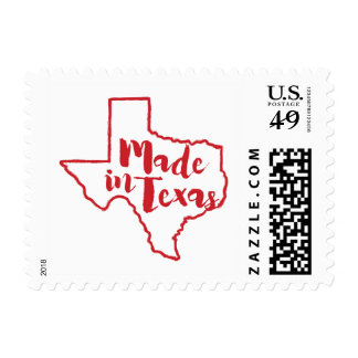 Made in Texas Postage Stamp