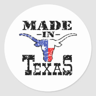 Made in Texas Stickers
