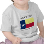 Made In Texas With Colombian Parts Toddler Shirt