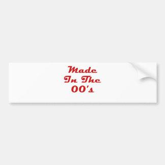 Made In The 00's Bumper Sticker