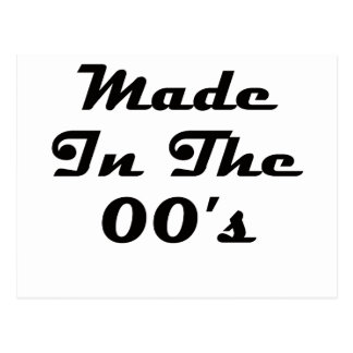 Made In The 00's Postcard