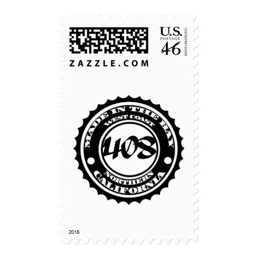 Made in the 408 postage stamp