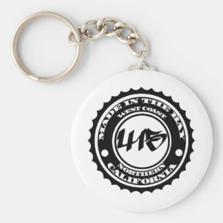 Made in the 415 keychain