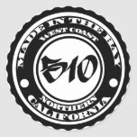 Made in the 510 classic round sticker
