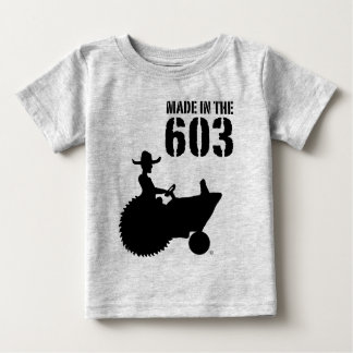 Made in the 603 baby T-Shirt