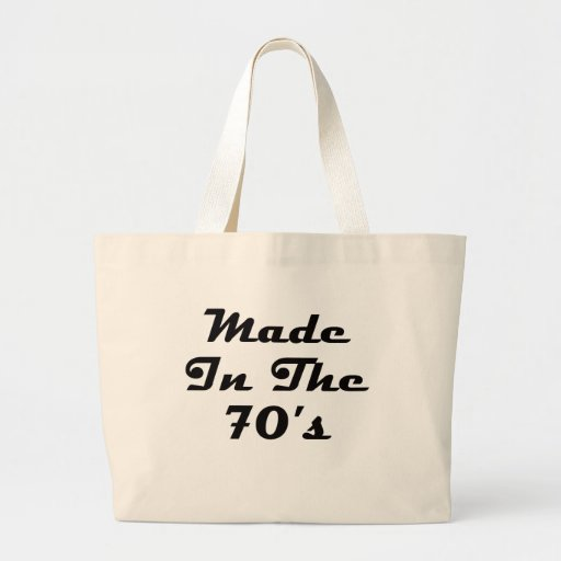 Made In The 70's Bag