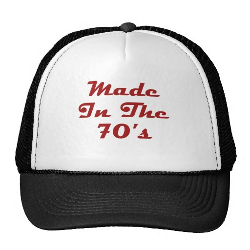 Made In The 70's Hat