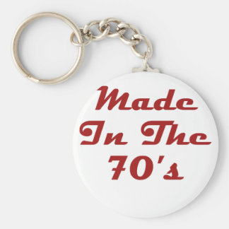 Made In The 70's Keychain