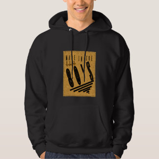 """Made in the 80""""s - hooded sweatshirt"""