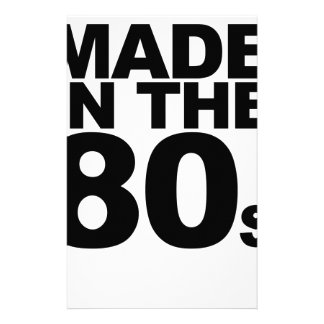 Made in the 80 s T-Shirts png Stationery