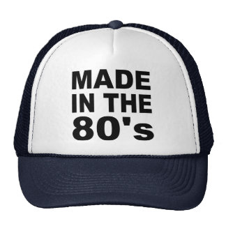 Made in the 80s - Birthday Trucker Hat