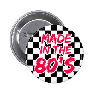 Made in the 80s button