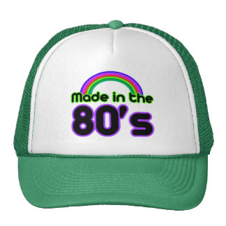 Made in the 80's mesh hats