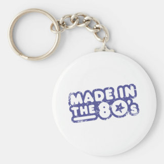 Made In The 80's Keychain
