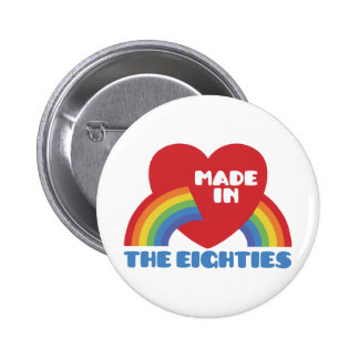 Made in the 80's pinback button