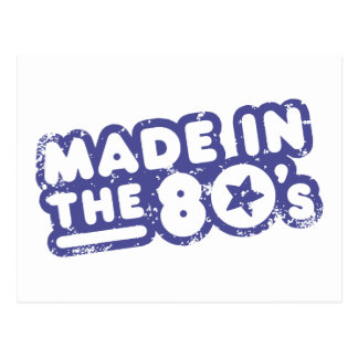 Made In The 80's Postcards