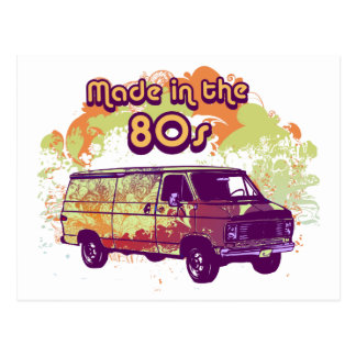 Made in the 80s postcard