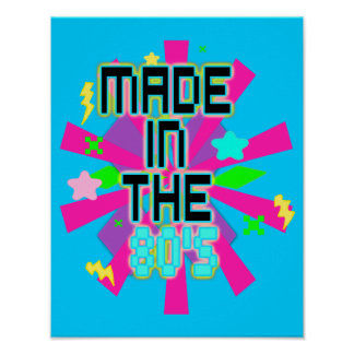 Made in the 80's Print