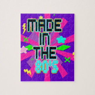 Made in the 80's Puzzle