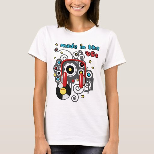 Made in the 80s t shirt zazzle Apps to design t shirts