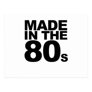 Made in the 80's T-Shirts.png Postcard