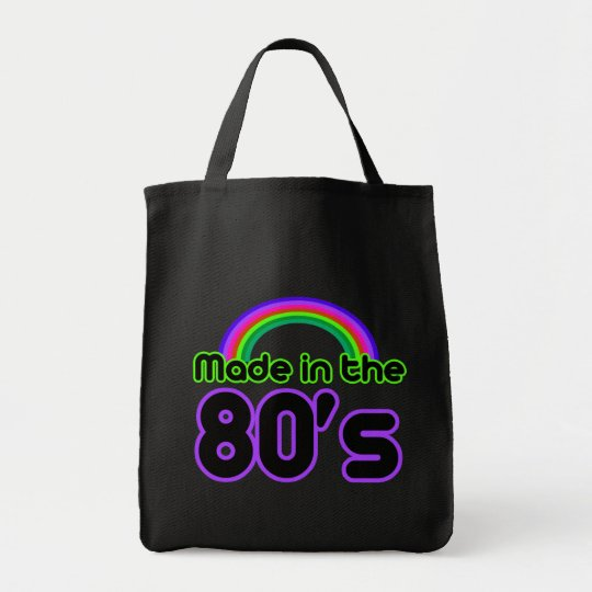 Made in the 80's tote bag