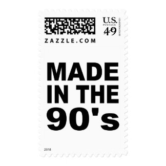 Made in the 90s - Birthday Postage Stamps