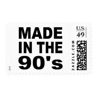 Made in the 90s - Birthday Postage Stamp